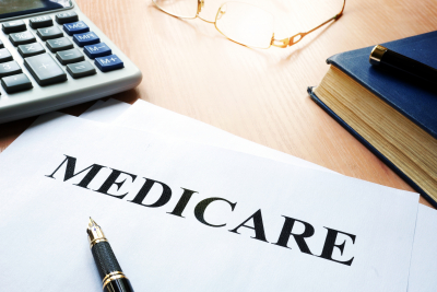 medicare policy on a desk